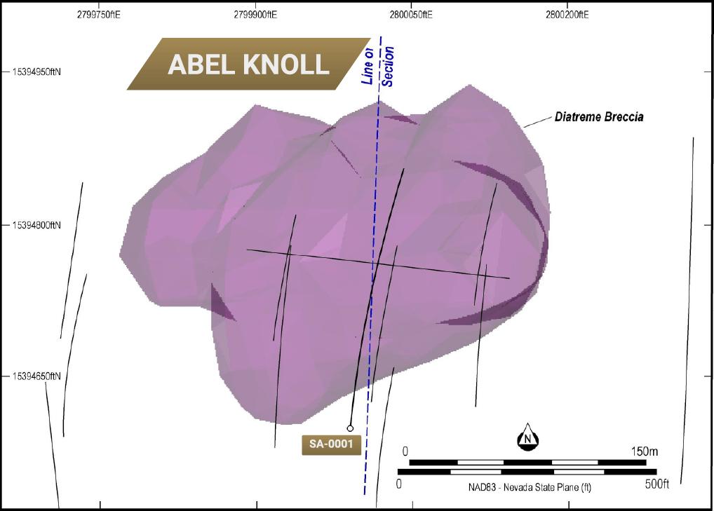 Abel Knoll lithology polygon